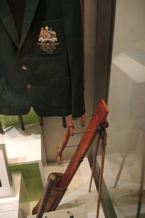 Golf bags with a stand were 100 years old by the late 20th century.