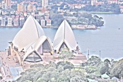 """The Opera House with the """"painting"""" effect by Nikon"""