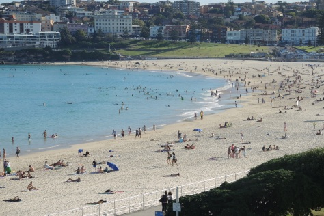 Bondi Beach is a haven on the Pacific to water-loving Sydney