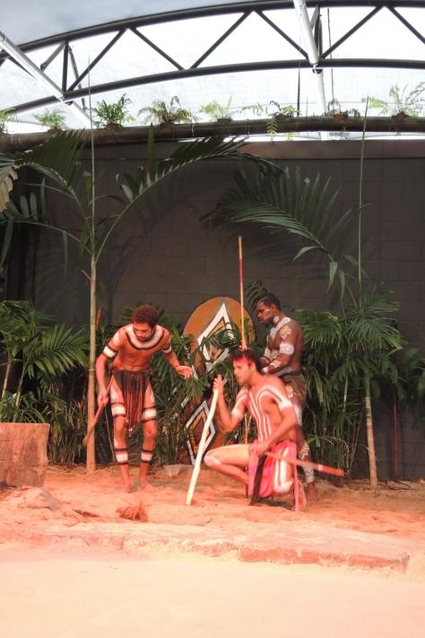 Dancers at the Tjapukai Cultural Center near Cairns.
