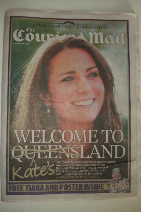 The Duchess visits Australia, creating headlines.