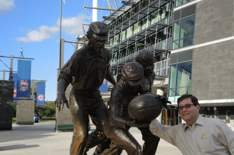 Doug Finds Rugby Players are Stiffs outside the Melbourne Cricket Ground