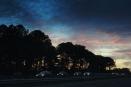 Sunset Raleigh 2014 I-40