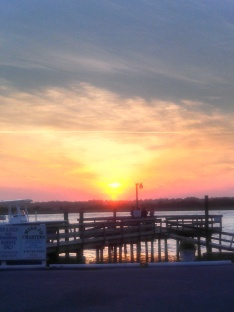 Sunset Topsail Beach Breezeway