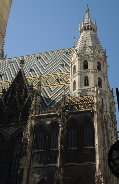 St. Stephens cathedral, Vienna.