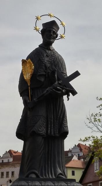 Saint John of Nepomuk, Cesky Krumlov
