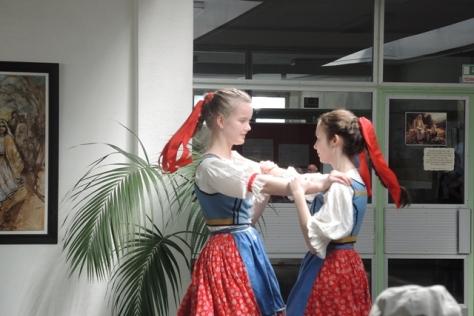 School girls dance, Bratislava