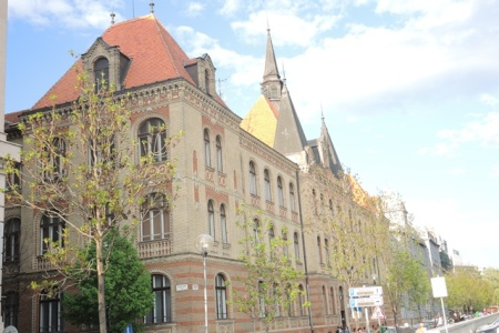 Restored building, Bratislava