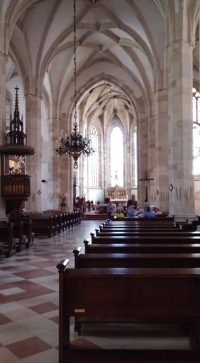 Inside St. Martin's, Bratislava