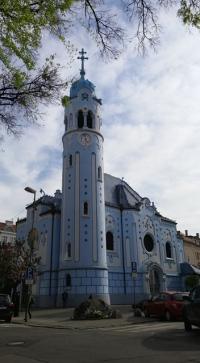 Little Blue church, Bratislava
