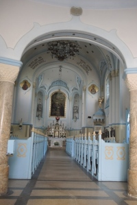 Inside the Blue Church, Bratislava