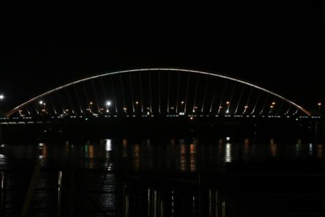 Arced bridge of Bratislava