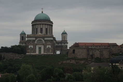 Esztergom, Hungary, from the Danube