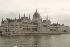 Budapest Parliament from the north Danube
