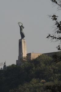 Liberty statue of Budapest