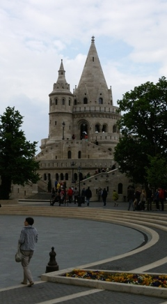 Small watch tower of Budapest Castle