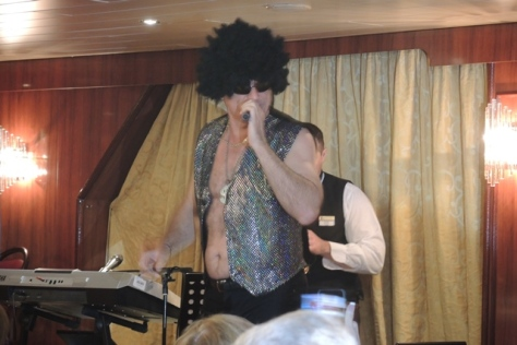Hospitality Director performs as Tom Jones