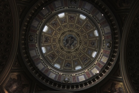 Inside St. Stephen's dome