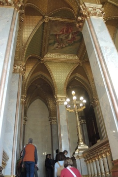 Golden staircase, Budapest Parliament