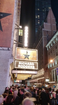 Richard Rodgers Theatre, New York, NY, October, 2015