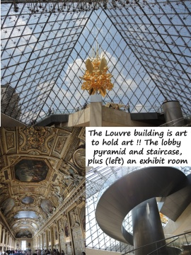 Louvre building is art for art!