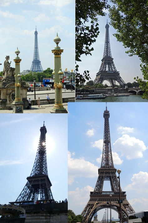 Eiffel Tower seems visible from anywhere in Paris