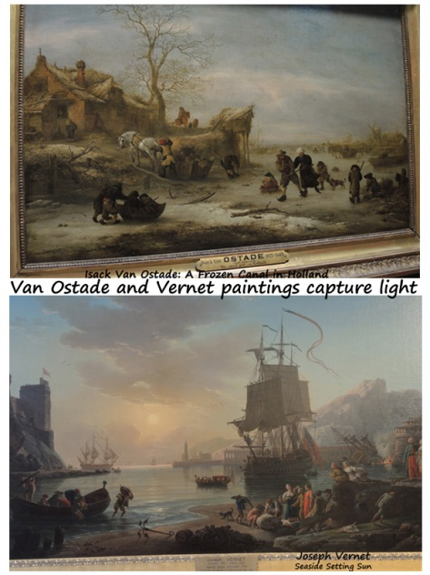 Van Ostade and Vernet paint light