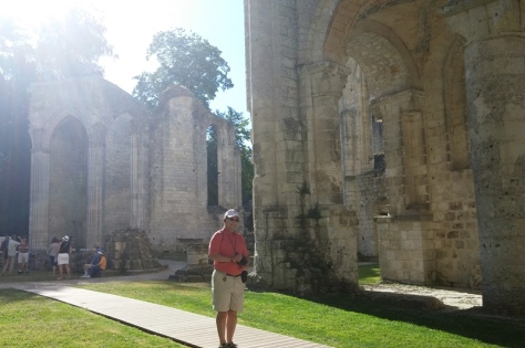 Visiting Jumièges Abbey