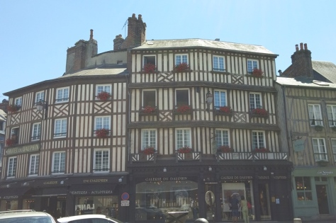 Honfleur buildings