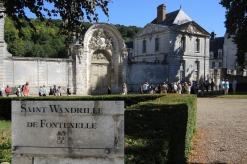 Saint Wandrille Abbey near Caudebec en Caux