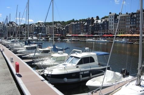 Honfleur port
