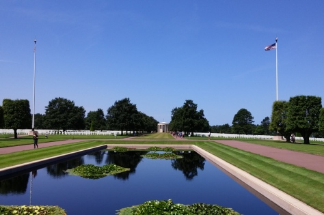 Cemetery Reflecting Pool