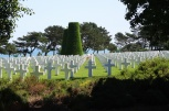 American Cemetery from the shadows