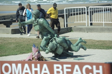 Omaha Beach Soldiers Monument