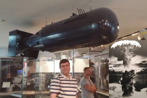 Fat Man Atom Bomb