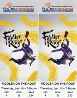 Fiddler Tickets