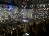 Justin Timberlake transparent video screens created atmosphere everywhere