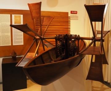 Paddlewheel Canoe